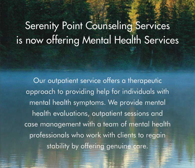 Now Offering Mental Health Services